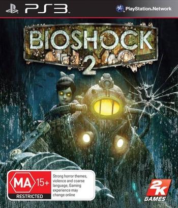BioShock 2 PS3 coverM (BLES00728)