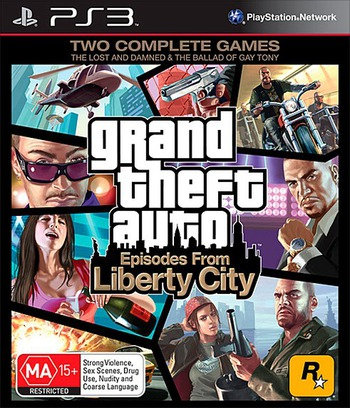 Grand Theft Auto: Episodes from Liberty City Array coverM (BLES00887)