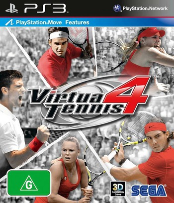 Virtua Tennis 4 PS3 coverM (BLES00912)