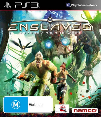 Enslaved: Odyssey to the West PS3 coverM (BLES00989)