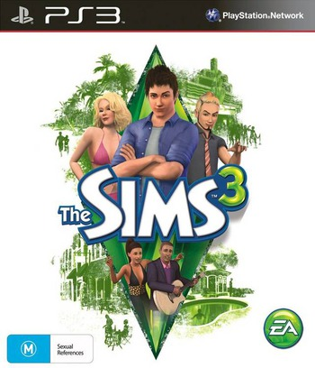The Sims 3 PS3 coverM (BLES01016)