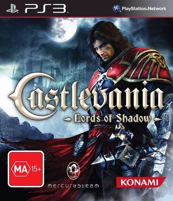 Castlevania: Lords of Shadow PS3 coverM (BLES01047)