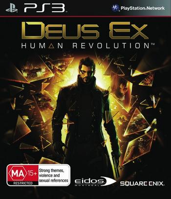 Deus Ex: Human Revolution PS3 coverM (BLES01151)