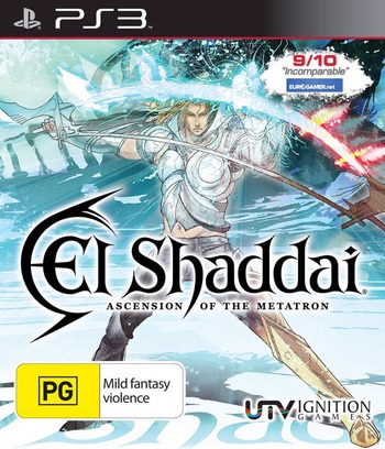 El Shaddai: Ascension of the Metatron PS3 coverM (BLES01163)