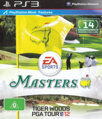 Tiger Woods PGA Tour 12: The Masters PS3 coverM (BLES01177)