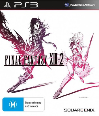 Final Fantasy XIII-2 PS3 coverM (BLES01269)
