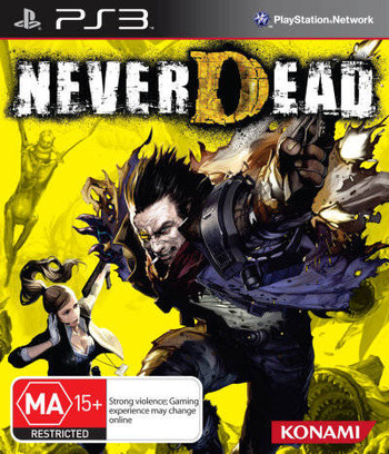 NeverDead PS3 coverM (BLES01303)