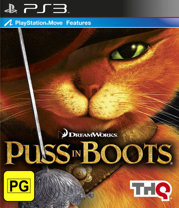Puss in Boots PS3 coverM (BLES01308)
