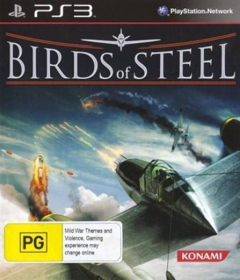 Birds of Steel PS3 coverM (BLES01397)