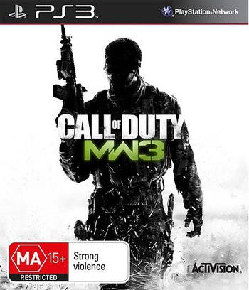 Call of Duty: Modern Warfare 3 Array coverM (BLES01428)