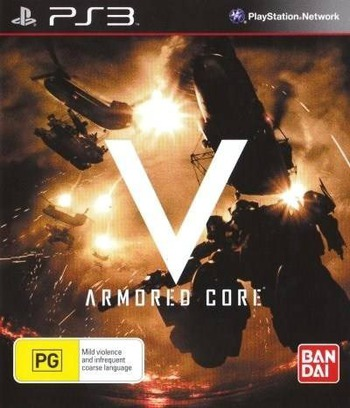 Armored Core: V Array coverM (BLES01440)