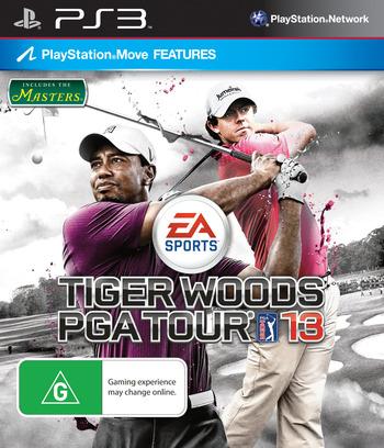 Tiger Woods PGA Tour 13 PS3 coverM (BLES01445)