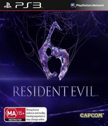 Resident Evil 6 PS3 coverM (BLES01465)