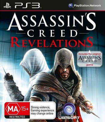 Assassin's Creed: Revelations PS3 coverM (BLES01466)