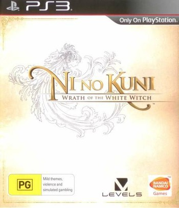 Ni no Kuni: Wrath of the White Witch PS3 coverM (BLES01555)