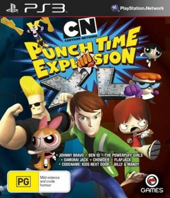 Cartoon Network: Punch Time Explosion XL PS3 coverM (BLES01622)