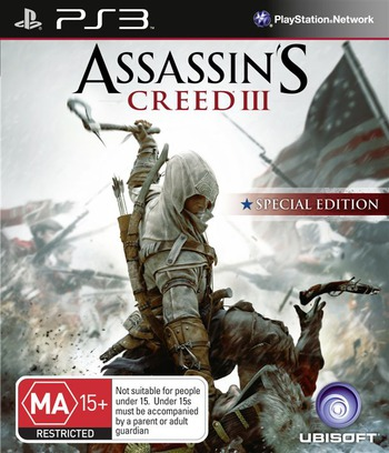 Assassin's Creed III PS3 coverM (BLES01668)