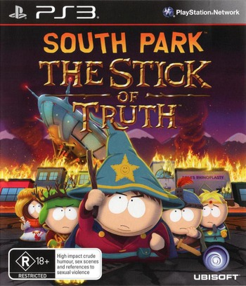 South Park: The Stick of Truth PS3 coverM (BLES01731)