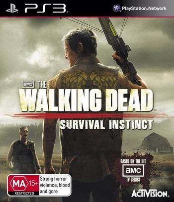 The Walking Dead: Survival Instinct PS3 coverM (BLES01779)