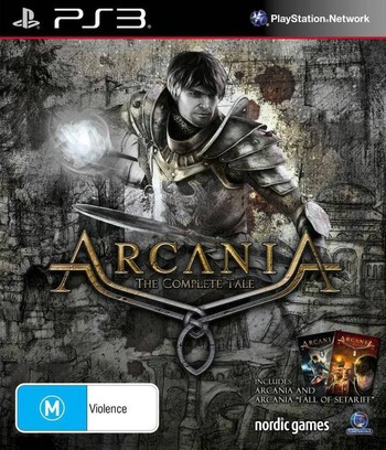 Arcania: The Complete Tale PS3 coverM (BLES01783)