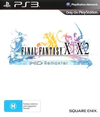 Final Fantasy X / X-2 HD Remaster PS3 coverM (BLES01880)