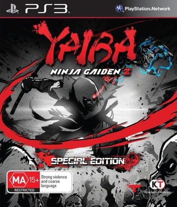 Yaiba: Ninja Gaiden Z PS3 coverM (BLES01892)
