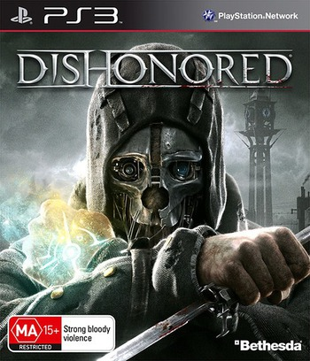 Dishonored: Game of the Year Edition PS3 coverM (BLES01925)