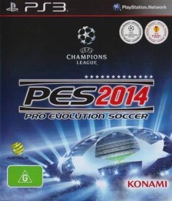 Pro Evolution Soccer 2014 PS3 coverM (BLES01931)