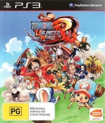 One Piece: Unlimited World Red PS3 coverM (BLES02020)