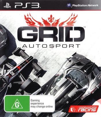 GRID Autosport PS3 coverM (BLES02038)