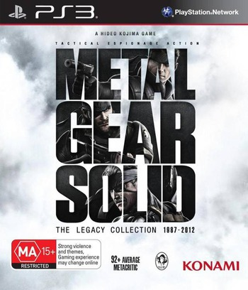 Metal Gear Solid: The Legacy Collection PS3 coverM (BLES82001)