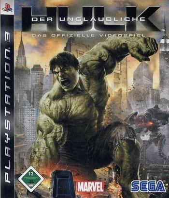 Der Unglaubliche Hulk: Das offizielle Videospiel PS3 coverM (BLES00289)