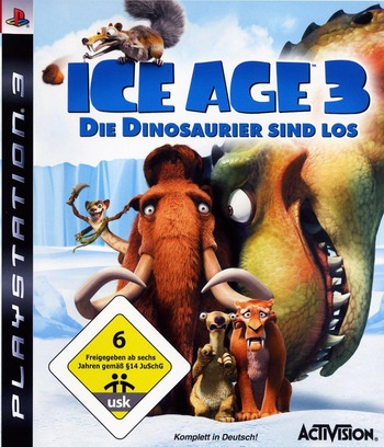 Ice Age 3: Die Dinosaurier Sind Los PS3 coverM (BLES00522)