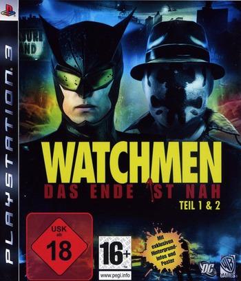 Watchmen: Das Ende Ist Nah - Tail 1&2 PS3 coverM (BLES00613)