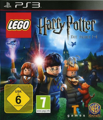 LEGO Harry Potter: Die Jahre 1-4 PS3 coverM (BLES00720)
