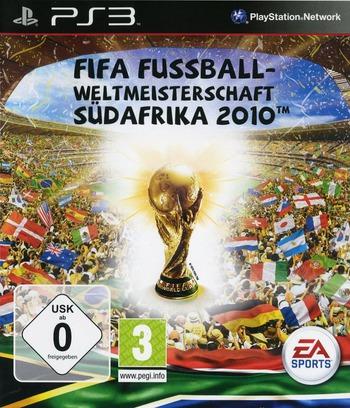 FIFA Fussball: Weltmeisterschaft Südafrika 2010 PS3 coverM (BLES00796)