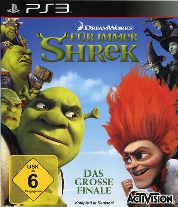 Für Immer Shrek PS3 coverM (BLES00837)