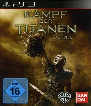 Kampf der Titanen: Das Spiel PS3 coverM (BLES00841)