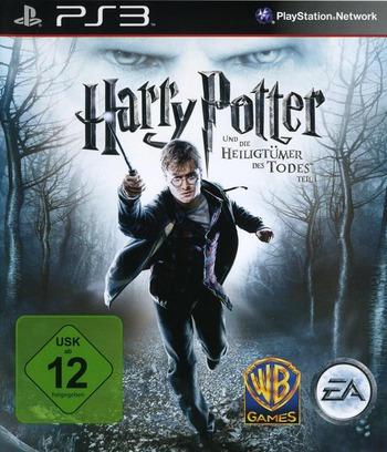 Harry Potter un die Heiligtümer des Todes - Teil 1 PS3 coverM (BLES00931)