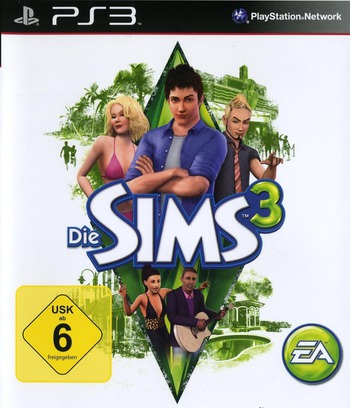 Die Sims 3 PS3 coverM (BLES01016)