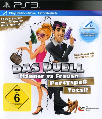 Das Duel Männer vs Frauen PS3 coverM (BLES01494)