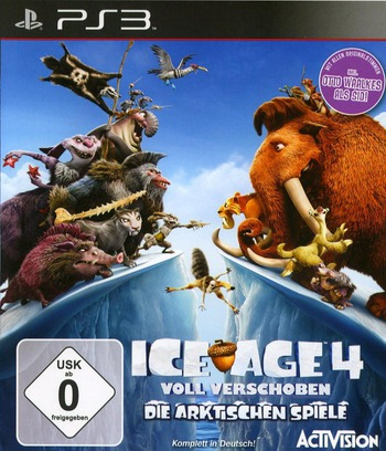 Ice Age 4: Voll Verschoben - Die Arktischen Spiele PS3 coverM (BLES01686)
