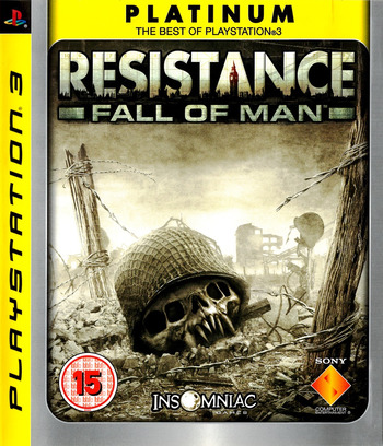 Resistance: Fall of Man PS3 coverM (BCES00001)