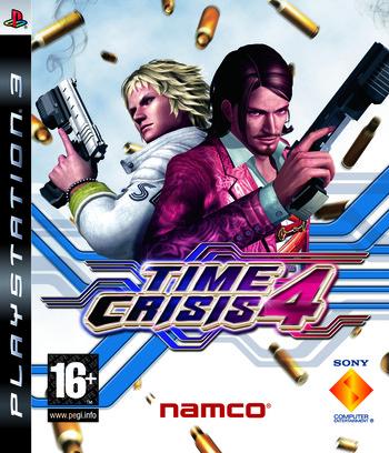 Time Crisis 4 PS3 coverM (BCES00057)