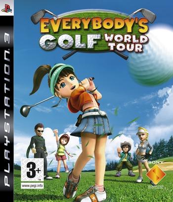 Everybody's Golf: World Tour Array coverM (BCES00068)