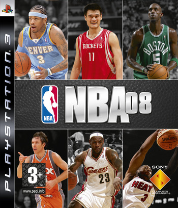 NBA 08 Array coverM (BCES00112)