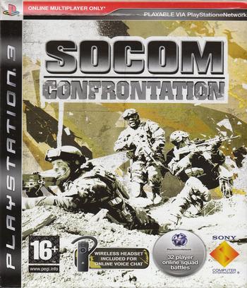 SOCOM Confrontation PS3 coverM (BCES00173)