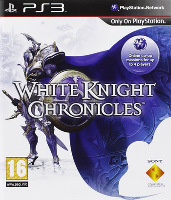 White Knight Chronicles PS3 coverM (BCES00225)