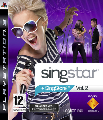 SingStar Vol. 2 PS3 coverM (BCES00235)