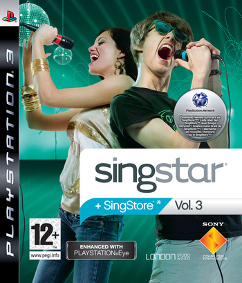 SingStar Vol. 3 PS3 coverM (BCES00266)